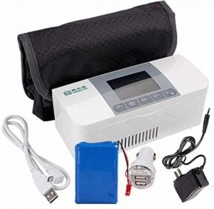 AIJUN Portable Cooling for insulin Case