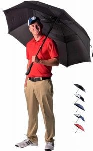 Athletico 62 : 68 Inch Automatic Open Golf Umbrella