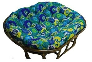 48x65-inch Papasan Cushion by Blazing Needles