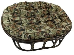 Patterned Papasan Chair Cushion by Blazing Needles