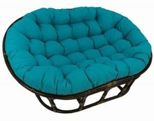 Blazing Needles Polyester Double Papasan
