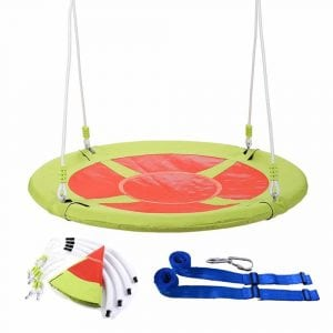 CO-Z 40 Large Saucer Swing Outdoor Tree Swing