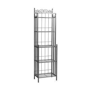 SEI Celtic 69-Inch Metal Baker's Rack