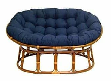International Caravan Double Papasan Chair