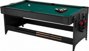 Fat Cat Pockey 7ft Air Hockey, Table Tennis, and Billiard Table