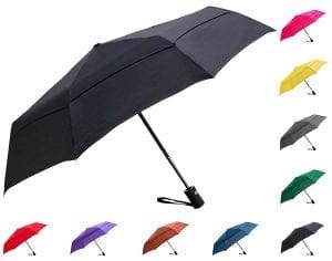Fidus Windproof Vented Travel Umbrella