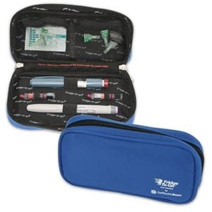 GetBacktoBasix Insulated Epipen Insulin Cooler Case