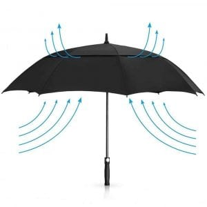 PengDa Golf Umbrella Windproof