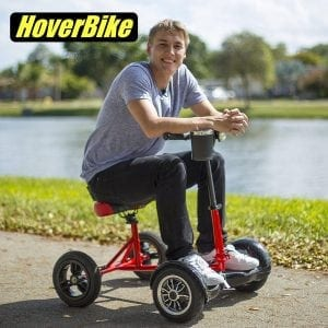 HOVERBIKE - SITTING ATTACHMENT FOR HOVERBOARD