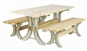 Hopkins 90182ONLMI Picnic Table