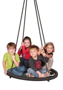 M & M Sales Enterprises Web Outdoor Swing