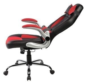 Merax High-back Ergonomic Pu Leather Racing Chair Executive Office Chair