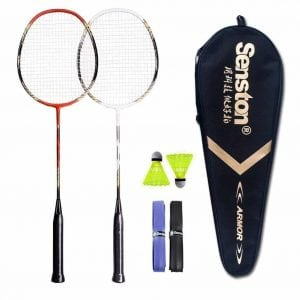 Senston two Player Badminton Racket Set