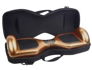 TOPCHANCES EVA Hard Carrying Bag Case for 6.5 Hoverboards Self Balancing Electric Scooter