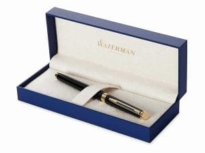 Waterman Hemisphere Essential Black Lacquer