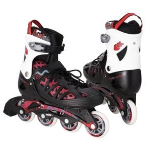 WeSkate Adult Rollerblades Adjustable Outdoor Roller skates