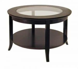 Winsome Round Coffee Table