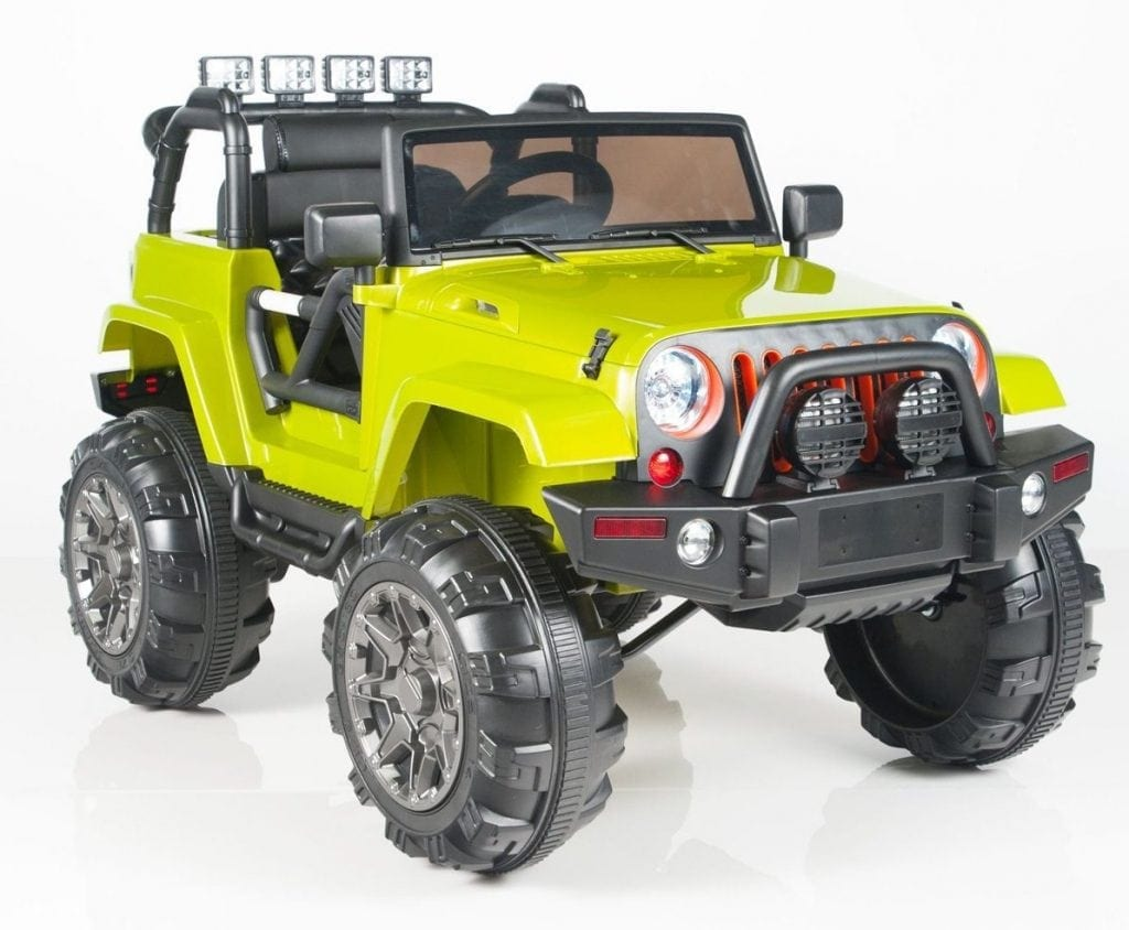 BIG TOYS DIRECT 12V MP3 Kids Ride on Jeep Car