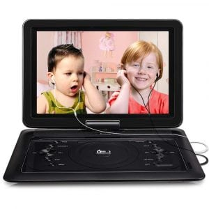 2019 Upgraded DR.J Portable DVD Player