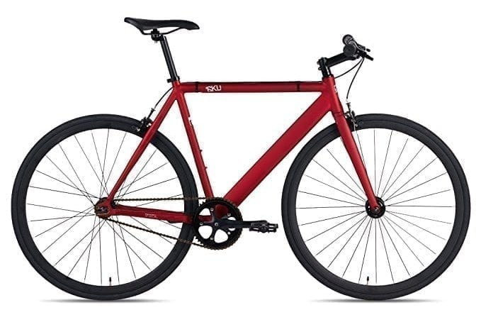 6KU Fixed Gear Single Speed Mountain Bike