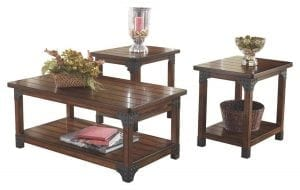 Murphy 3 Piece Occasional Table Set