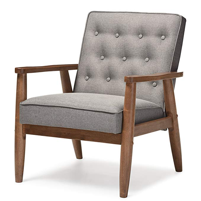 Baxton Studio Sorrento Lounge Chair
