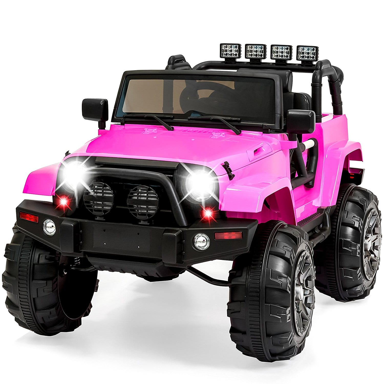 Best Choice Products 12V Ride On Car Truck pink