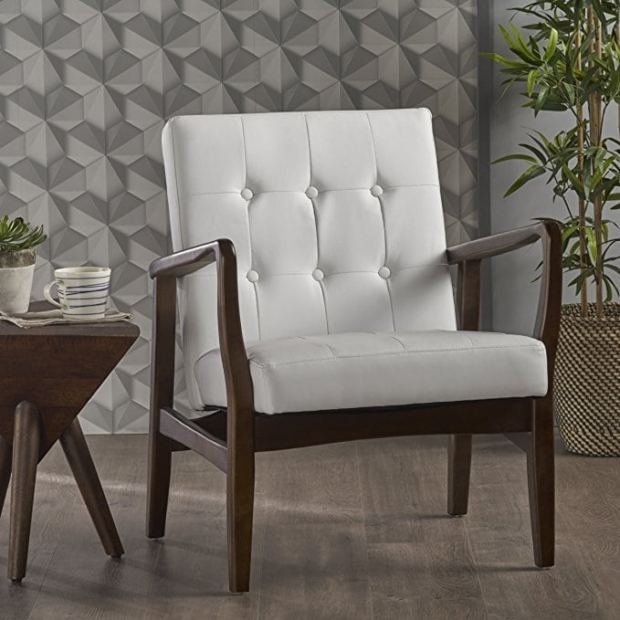 Conrad Modern Faux Leather Chair
