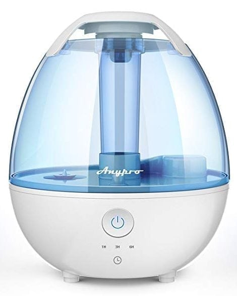 Anypro Cool Mist Humidifier - Ultrasonic Humidifier