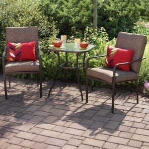 Crossman All Weather Outdoor Patio Dining Set3- piece