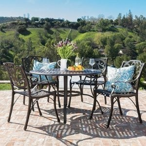 GDF Studio 300210 Outdoor Patio Dining Set