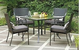 Gramercy Home Outdoor Patio Dining Table Set