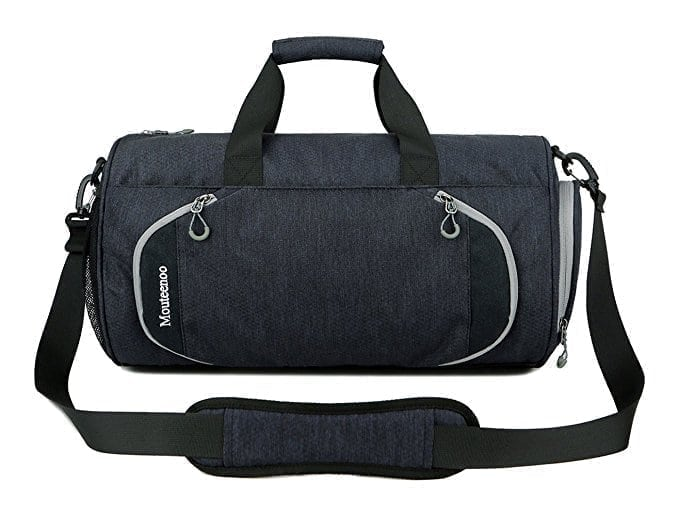 Gym Sports Small Duffel Bag for Men and Women with Shoes Compartment - Mouteenoo