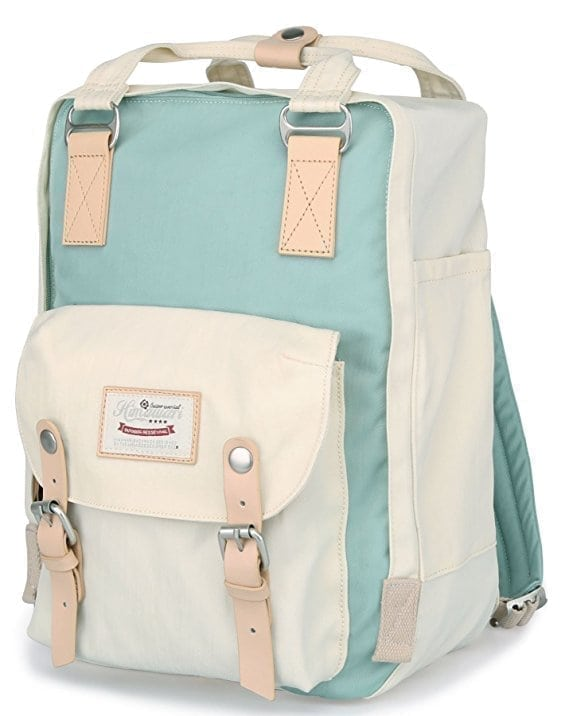 Himawari College Vintage Travel Waterproof Backpack