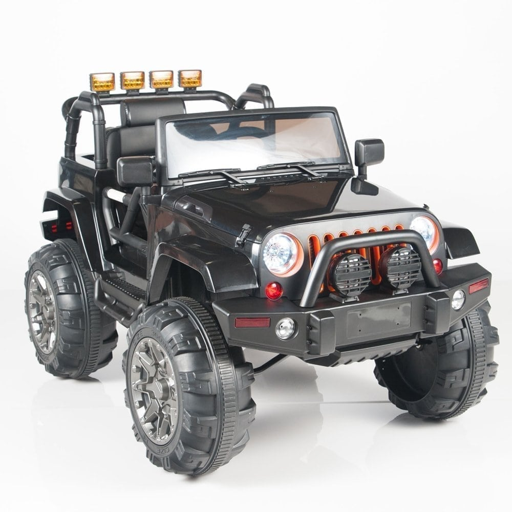 BIG TOYS DIRECT Kids 12V Electric Power Ride On Jeep Truck