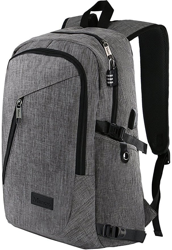 Mancro Laptop Backpack, Travel Computer Bag