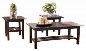 Lewis 3 Piece Occasional Table Set