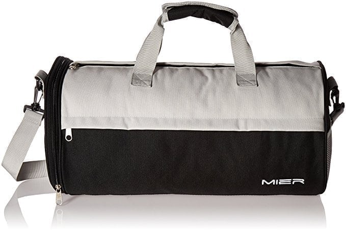 MIER Barrel Travel Sports Bag for Women and Men Small Gym Bag