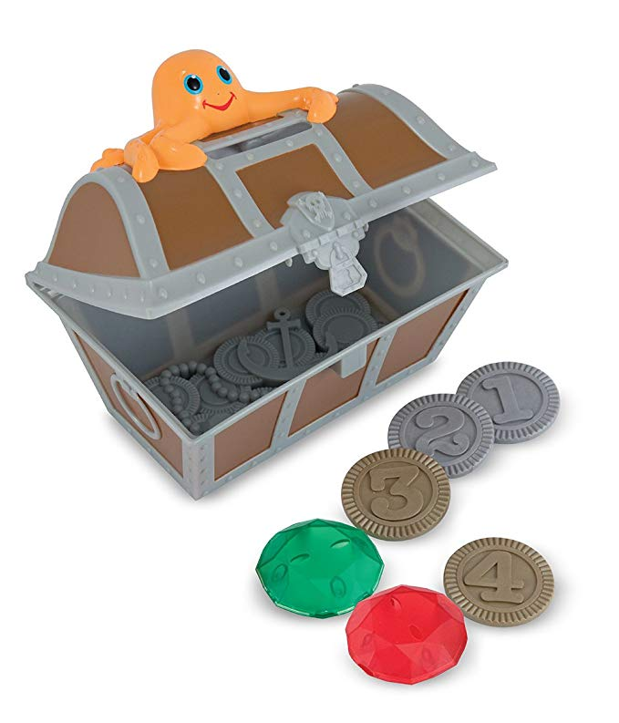Melissa & Doug Sunny Patch Undersea Treasure Hunt Pool Game With Floating Chest
