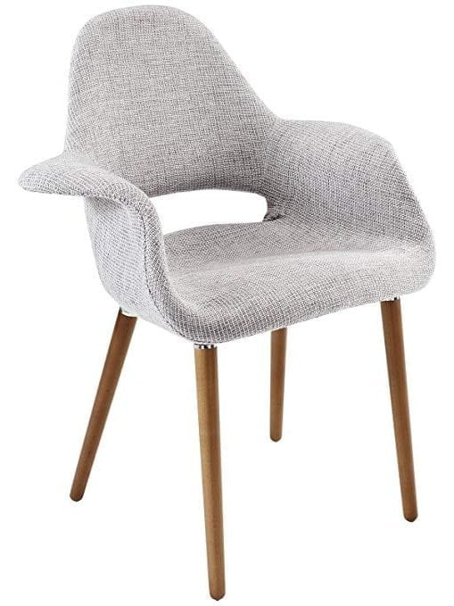 Modway Aegis Upholstered Fabric Dining Armchair