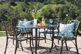 Outdoor Patio Dining Table Set
