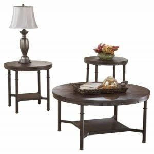 Sandling Round Occasional Table Set