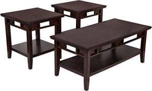 Furniture Logan 3 Piece Occasional Table Set