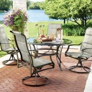 Statesville 5-Piece Outdoor Patio Dining Set