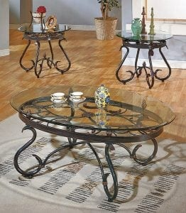 Steve Silver Lola 3 Piece Occasional Table Set