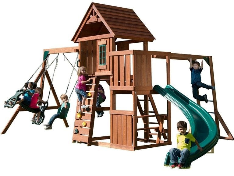 Swing-N-Slide Cedar Brook Play Set with Two Swings
