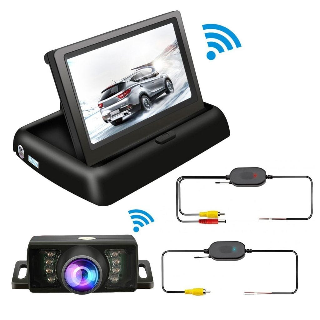 TVIRD Wireless Backup Camera And Monitor