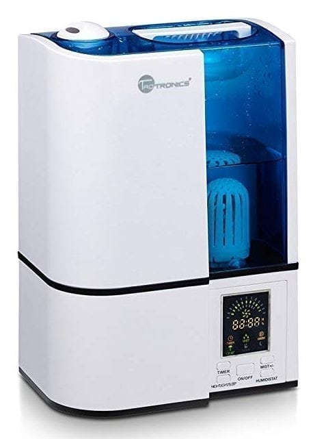 TaoTronics Cool Mist Humidifier, LED Display, 4L Ultrasonic Humidifiers