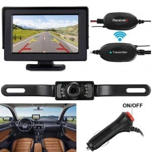 ZSMJ Wireless Backup Camera