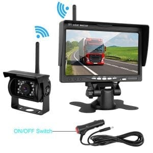 ZSMJ Wireless Backup camera Rear view Camera System